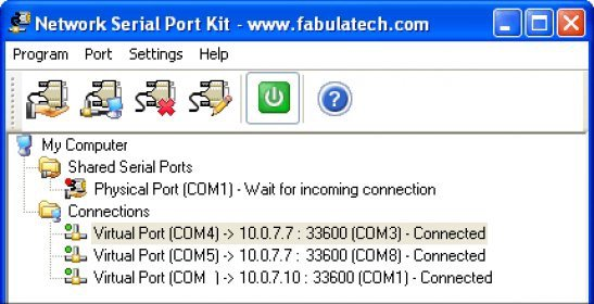 Network Serial Port Kit