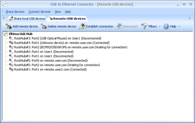 Click to view USB over IP Network 2.4 screenshot